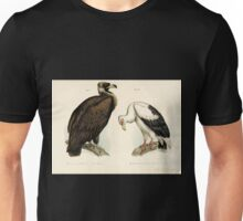 Bilder atlas zur Wissenschaftlich populären Naturgeschichte der Vögel in ihren sämmtlichen Hauptformen Leopold Joseph Fitzinger 1864 010 Unisex T-Shirt