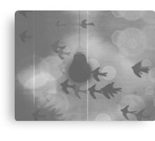 Dark Monochrome Dreams Canvas Print
