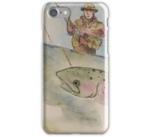 Flyfishing: The Battle iPhone Case/Skin
