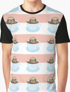 Sloth in a cup 1 Graphic T-Shirt