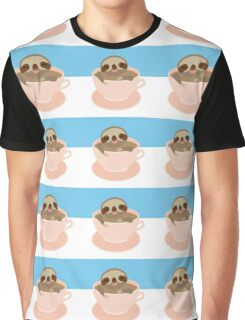 Sloth in a cup 2 Graphic T-Shirt
