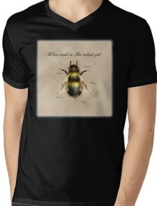 Where would we Bee without you? Mens V-Neck T-Shirt
