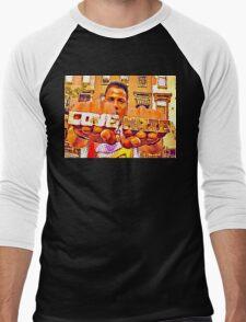 RADIO RAH: LOVE VS HATE Men's Baseball ¾ T-Shirt