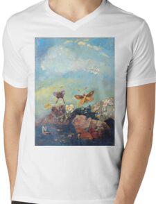 Butterflies - Butterflies Mens V-Neck T-Shirt