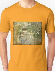 Vintage famous art - Berthe Morisot  - The Basket Chair Unisex T-Shirt