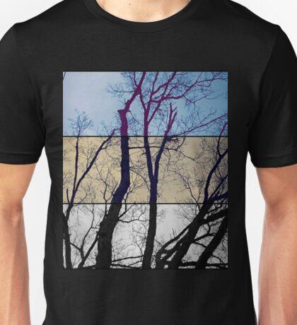 Tri-Colour Tree Unisex T-Shirt