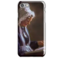 Peacefully enjoying a good book iPhone Case/Skin