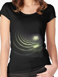 sewer line Women's Fitted Scoop T-Shirt
