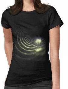 sewer line Womens Fitted T-Shirt