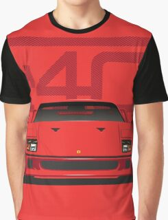 Ferrari F40 Graphic T-Shirt