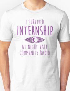 I survived Internship! Unisex T-Shirt