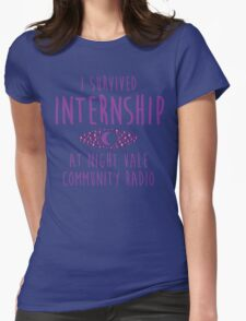 I survived Internship! Womens Fitted T-Shirt