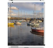 Titchfield Haven, England at late afternoon iPad Case/Skin