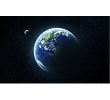 -Our planet- Photographic Print