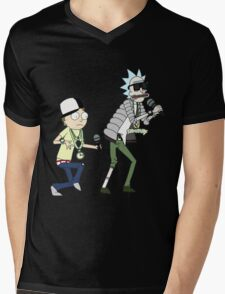 rick n morty dance Mens V-Neck T-Shirt