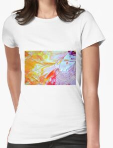 sinful butterfly wings Womens Fitted T-Shirt