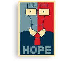 Milo Hope Canvas Print