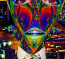 Alien Night Out Sticker