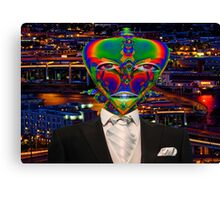 Alien Night Out Canvas Print