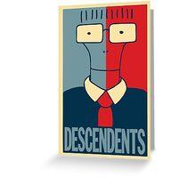 Descendents Milo Greeting Card