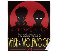 vash AND wolfwood Poster