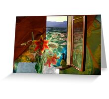 Colours Changing Hue Greeting Card