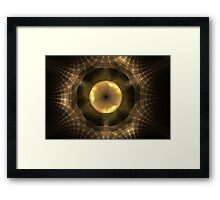 smart spider Framed Print