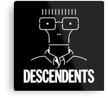 Milo Descendents Metal Print