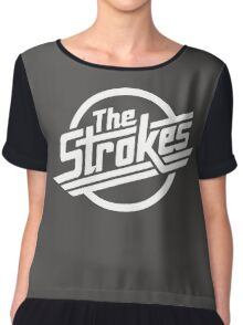 The Strokes Chiffon Top