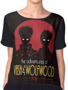 vash AND wolfwood Chiffon Top