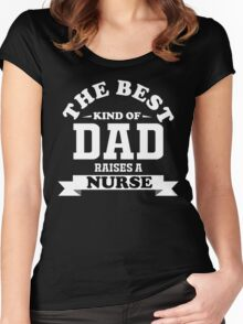 fathers day gift nurse Women's Fitted Scoop T-Shirt