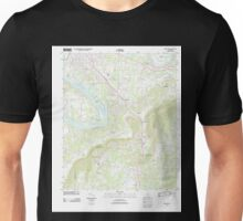 USGS TOPO Map Alabama AL Glencoe 20110923 TM Unisex T-Shirt