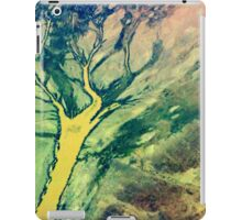 Just like a tree.........Above Australia's Outback at an Altitude of 30.000 ft iPad Case/Skin