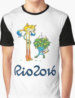 Vinicius and Tom Joy Graphic T-Shirt