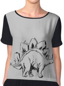 stegosaurus Chiffon Top