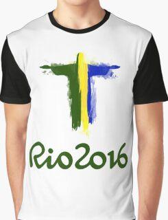 Rio 2016 Brazil Graphic T-Shirt