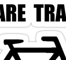 Bike Traffic Sticker
