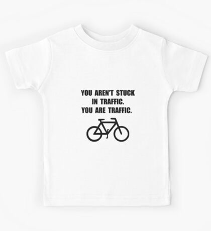 Bike Traffic Kids Tee