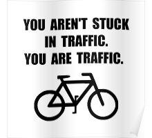 Bike Traffic Poster