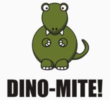 Dino Mite Dinosaur One Piece - Short Sleeve