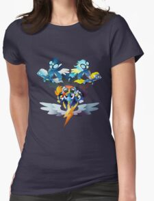 The Wonderbolts Womens Fitted T-Shirt