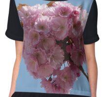 Pink Blossoms Chiffon Top
