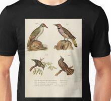 Bilder atlas zur Wissenschaftlich populären Naturgeschichte der Vögel in ihren sämmtlichen Hauptformen Leopold Joseph Fitzinger 1864 032 Unisex T-Shirt