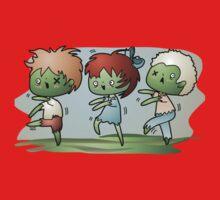 Kawaii Zombies Kids Tee