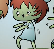 Kawaii Zombies Sticker