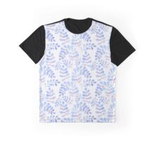 Abstract floral pattern with hand-drawn watercolor elements. Graphic T-Shirt