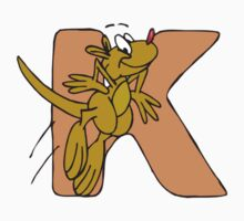 K Is For Kangaroo Kids Tee
