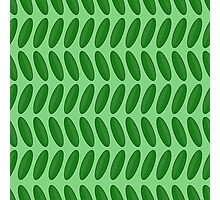 Cucumber pattern Photographic Print
