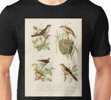 Bilder atlas zur Wissenschaftlich populären Naturgeschichte der Vögel in ihren sämmtlichen Hauptformen Leopold Joseph Fitzinger 1864 068 Unisex T-Shirt