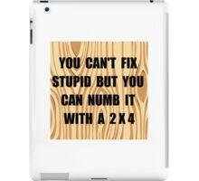 Numb Stupid iPad Case/Skin